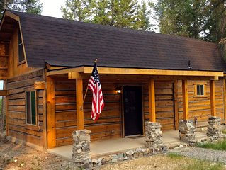 Cedar Cabin in Montana.  Minutes from adventure yet close to town!