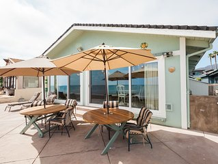 Ocean-Front, Faria Beach Home in Gated Community!