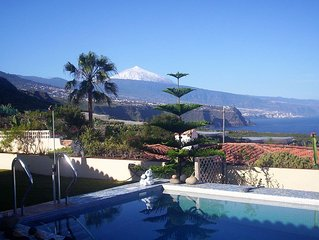FANTASTIC LOCATION with wonderful VIEWS of ATLANTIC-TEIDE PUERTO DE LACRUZ