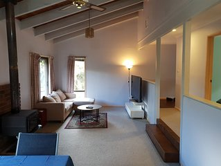 Relaxed and comfy retreat that is pet friendly.
