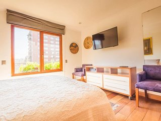 Vitacura Family - Eclectic 3 Bedroom Apartment in Las Condes