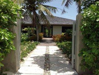 Villa CASINA  ' the Birds House ' WHITBY, North Caicos, Turks & Caicos Islands