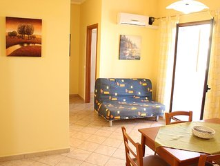 ALBA  positioned central between Palermo and Trapani few meters from beach