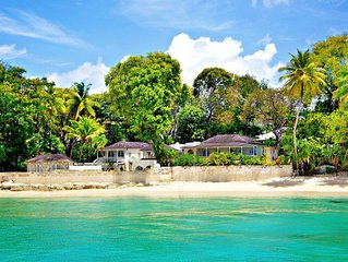 LANDFALL VILLA - AMAZING LOCATION ON SANDY LANE BEACH IN BARBADOS