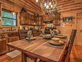 SHEAR PLEASURE-1 night stays! Couples Farmhouse Cabin, Sleeps 4, Hot Tub, Firepl