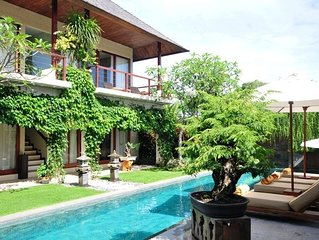 Book 4 Bedroom, stay at 5 bedroom  pool villa, 250m from beach