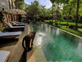 1 Deluxe Hotel Paddy View 2 People Ubud Bali