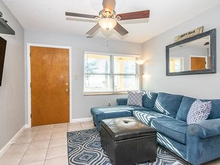 Relaxing Treasure Island Condo Steps From Beach, Watch Sunset From Your Balcony!