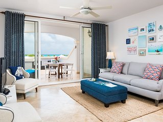 Beautifully designed 1 bedroom with panoramic ocean views and huge terrace