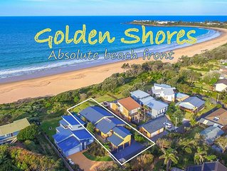Golden Shores - Absolute beachfront with stunning views