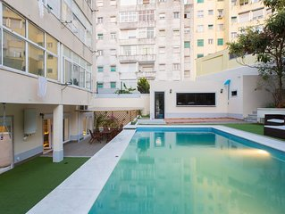 Swimming Pool And Garden Apartment