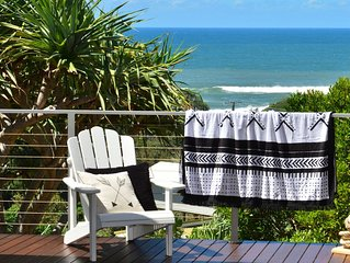 Beach House on Surfside - Listen to the waves crash and watch the surf roll in