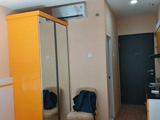 Apartemen Grand Asia Afrika Studio Full Furnished