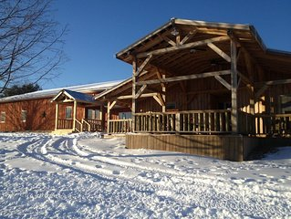 Little Rock Lodge - 8300 sq feet of rustic elegance on over 200 acres!