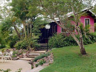 Jacaranda Pioneer Guest Cottage ... historic barn, romantic couples, family fun.