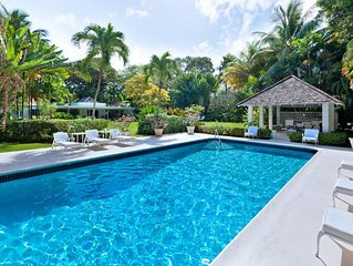 Beautiful 5 bedroom Villa in Barbados situated on its own private location close