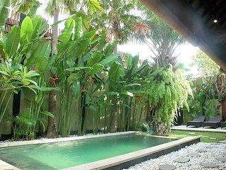 Legian 4 Bed Villa 10 min walk beach jes