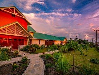 Bougainvillea - Luxury 3 bedroom Caribbean - styled farmhouse near Oistins