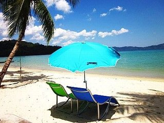 Private Beachfront Home and Resort in Beautiful  Port Barton Palawan.