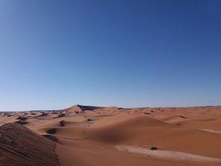 Nomadic camp desert
