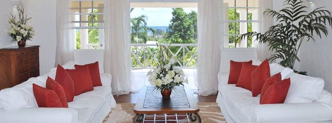 Villa BelleView  -  Ocean View - Located in  Stunning Saint James with Private P