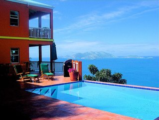 Stunning Villa in a Most Desirable Location on Tortola