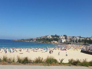 Coogee beach postcard views