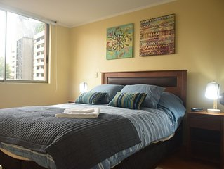 Cr Apart, full furnished apartment, best location in santiago downtown