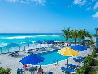 Beautiful Barbados Beachfront Rental With Stunning Sea Views