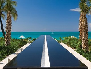 *Please Enquire* Specials available - One bedroom Ocean front Villa on Grace Bay
