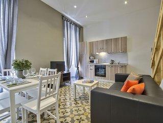 Centrally locted Valletta 2-bedroom Duplex Apartment