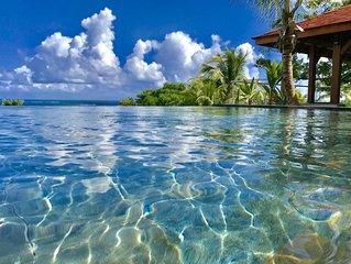 Villa Coralie / Domaine des Fonds Blancs: 5* Luxury Villa Rental *Martinique