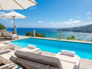 Breezy Bluff private villa with majestic views