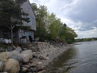 Surry (Acadia) Cottage Built Directly On Beach