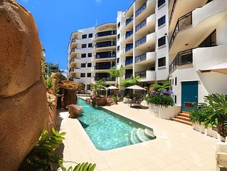 Renovated 2 Bedroom Apartment 2Blocks from Beach - Caribbean Resort Mooloolaba