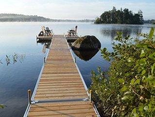 Green Lake 3 bedroom vacation house near Acadia & Ellsworth