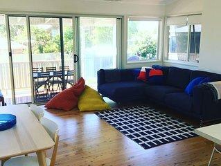 Spoonbills - bright, spacious beach house at Culburra