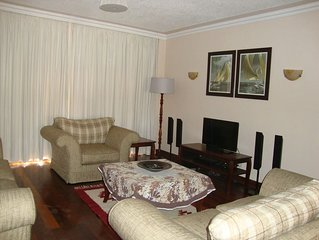 Tastefully furnished and serviced apartment