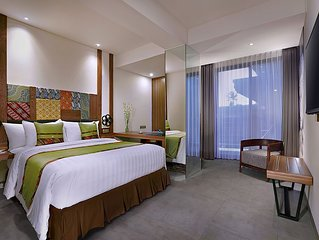 A Private Cozy room near airport and Segara Beach