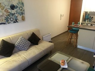 My new  apt in downtown Santiago is waiting for you!