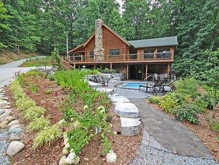 A Private Luxury Retreat in Hocking Hills, Ohio