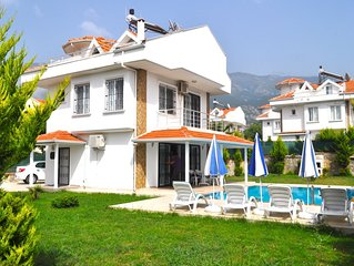 Pasha Villa, located in the Oludeniz area. Private Swimming  Pool