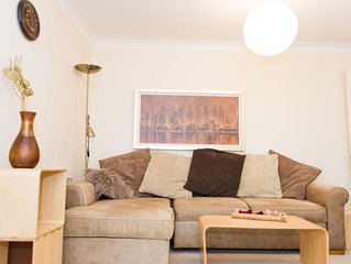 Very central, cozy 2 bedroom flat