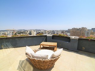 Penthouse Suite with rooftop balcony