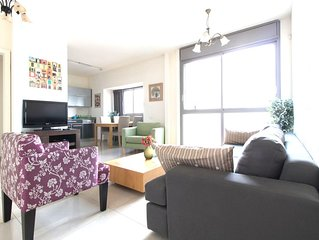 Luxury, Top location, Private parking, Heart of Jerusalem, Vaction, Holiday,