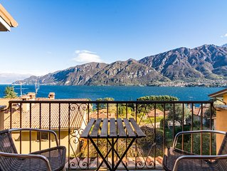 Villa near Bellagio, with stunning lake view, garden and private parking