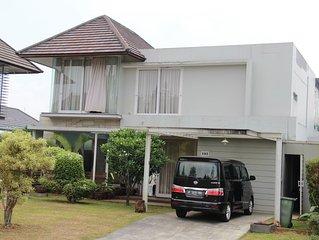 House in Rancamaya Golf Residence Bogor