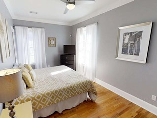Cozy Couple's Getaway w/ King Bed - Historic District, Free Street Parking, 5 mi