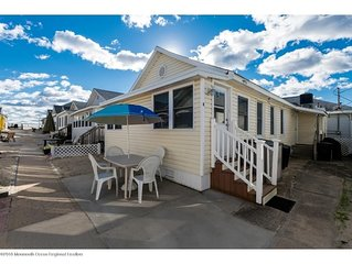 Beach Getaway set in the sand only steps from the boardwalk & beach!