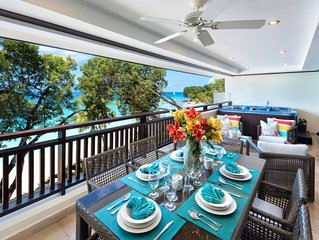Coral Cove - Condo 11  -  Beach Front - Located in  Beautiful Saint James with H